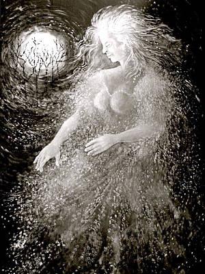 Dancing Through The Darkness Art Print