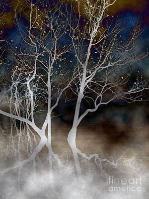 Photograph - Dancing Tree Altered by Paula Guttilla