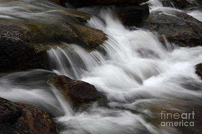 Photograph - Dancing Waters 1 by Bob Christopher