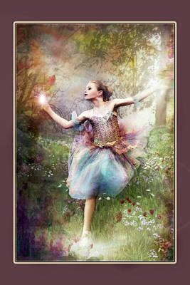 Digital Art - Dancing With The Light by Pamela Hagedoorn