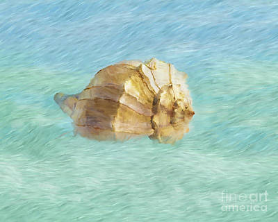 Art Print featuring the photograph Dancing With The Sea by Betty LaRue