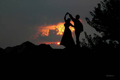 Photograph - Dancing With The Sunset 9088 by Ericamaxine Price