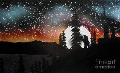Dancing With You Art Print by Ed Moore