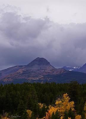 Photograph - Dancing Woman Mountain, Fall Rainstorm by Tracey Vivar