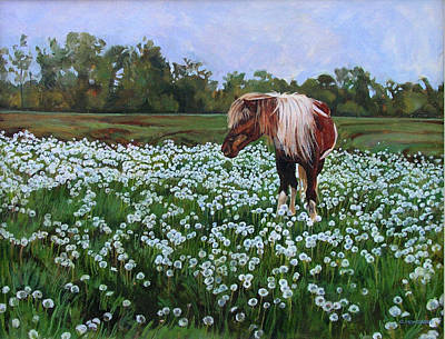 Painting - Dandelion by Christine Montague