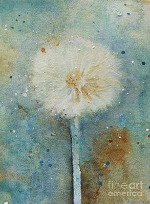 Painting - Dandelion Clock 2 by Patricia Henderson