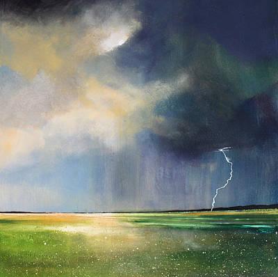 Dandelion Fields Art Print by Toni Grote
