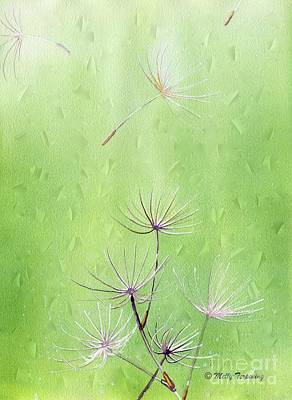 Painting - Dandelion by Melly Terpening