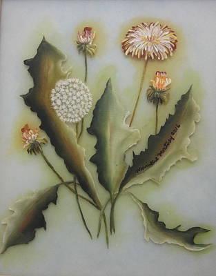 Painting - Dandelion by Monique Montney