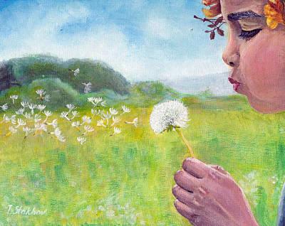 Dandelion Art Print by Viktor Stakhov