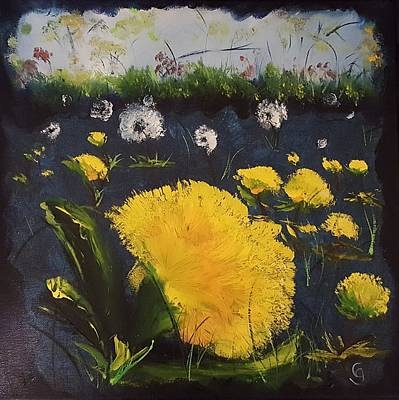 Painting - Dandelions           26 by Cheryl Nancy Ann Gordon