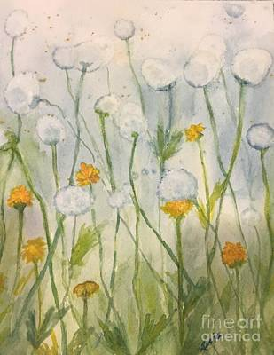 Painting - Dandelions by Lucia Grilletto