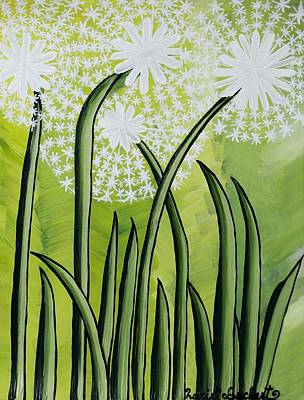Painting - Dandelions by Lucie Buchert