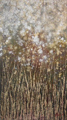 Painting - Dandelions by Steve Ellis