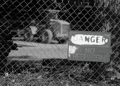 Photograph - Danger 10 B W 1 by Joseph C Hinson Photography