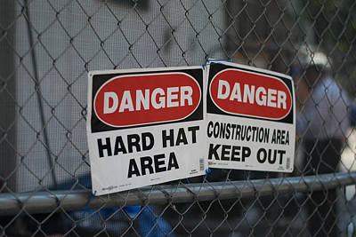 Danger Art Print