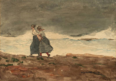 Painting - Danger by Winslow Homer