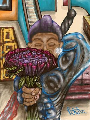 Dangerous Flowers Art Print