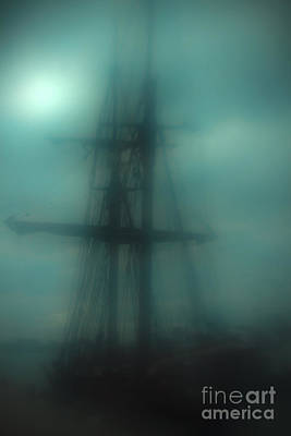 Tall Ships Photograph - Dangerous Waters by Andrew Paranavitana