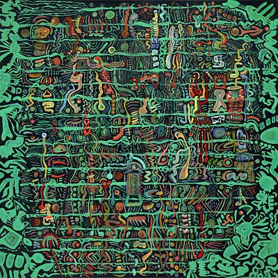 Painting - Dangle by Scott Steelman
