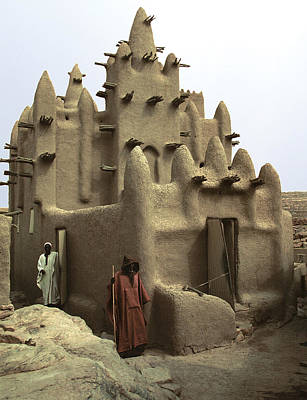Dogon Country Photograph - Dani Sare 1990 by Huib Blom