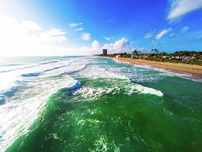 Photograph - Dania Beach Gopr0306 by Carlos Diaz