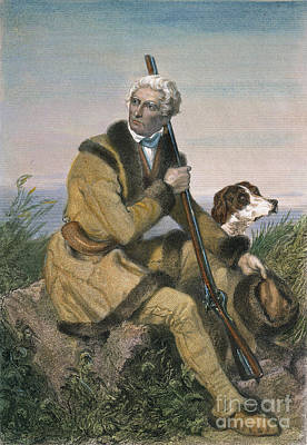Daniel Boone (1734-1820) Art Print by Granger
