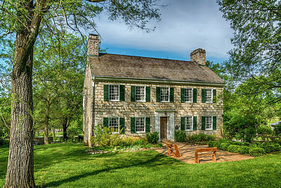 Photograph - Daniel Boone Home Defiance Mo 7r2_dsc6693_04252017 by Greg Kluempers