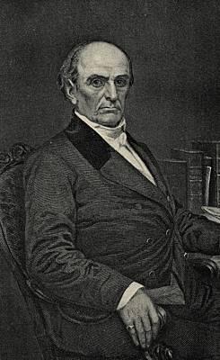 Orator Drawing - Daniel Webster, 1782-1852. Statesman by Vintage Design Pics