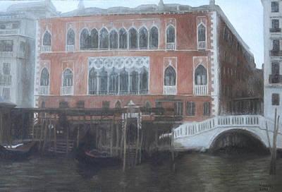 Painting - Danieli Hotel by Masami Iida
