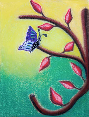 Photograph - Danielle's Butterfly by Teri Schuster