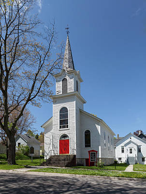 Photograph - Danish Lutheran Church by Fran Riley