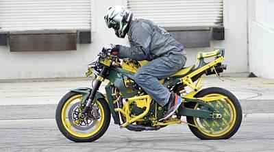 Motorcycle Photograph - Danny 25 by Cindy Nunn
