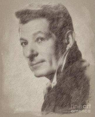 Fantasy Drawings - Danny Kaye, Actor by Frank Falcon