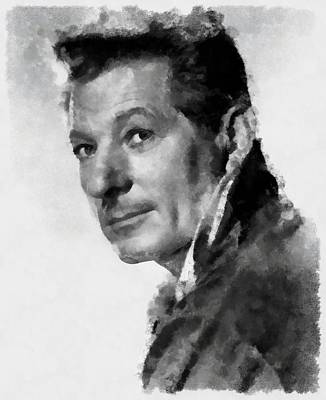 Danny Kaye Actor Art Print by Esoterica Art Agency