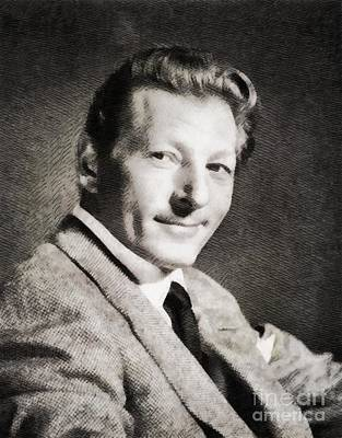 Danny Painting - Danny Kaye, Hollywood Legend By John Springfield by John Springfield