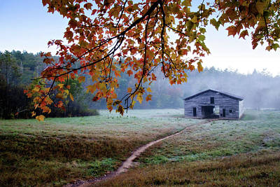 Photograph - Dan's Barn by Lana Trussell