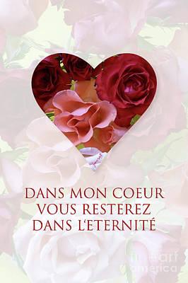 Longines Digital Art - Yes Valentine Gift M15 by Johannes Murat