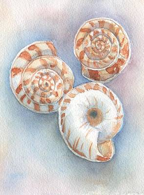 Painting - Dan's Snails by Libby  Cagle