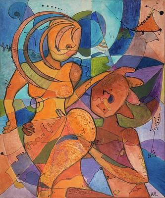 Bailar Mixed Media - Danse-moi  by Andree Anne Lafleur