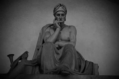 Photograph - Dante Alighieri by Chris Alberding