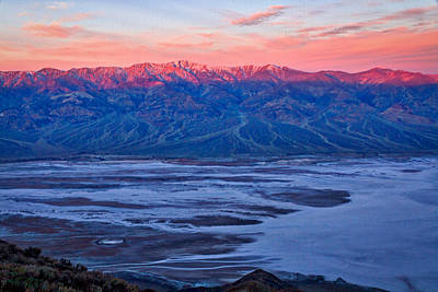 Photograph - Dante's View Dawn #2 - Death Valley by Stuart Litoff