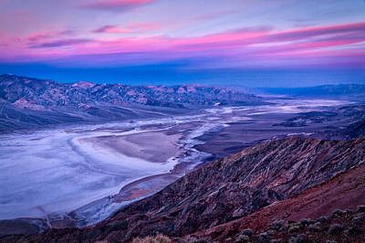 Photograph - Dante's View Dawn - Death Valley by Stuart Litoff