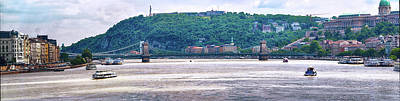 Photograph - Danube At Budapest 4 by C H Apperson