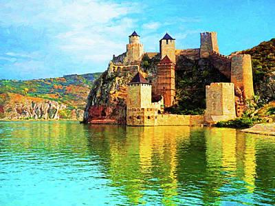Digital Art - Danube Fortress by Dennis Cox Photo Explorer