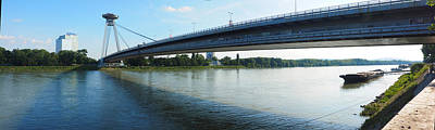 Photograph - Danube River At Bratislava by C H Apperson
