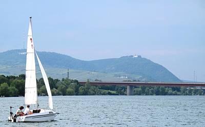 Photograph - Danube River Sailor by Ian  MacDonald