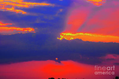 Photograph - Danube Sunset Red by Rick Bragan
