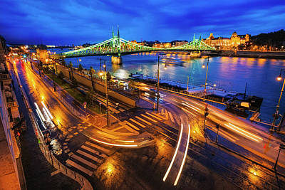 Photograph - Danube View Budapest  by Judith Barath