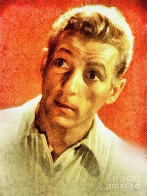 Kaye Painting - Dany Kaye, Vintage Hollywood Legend by John Springfield